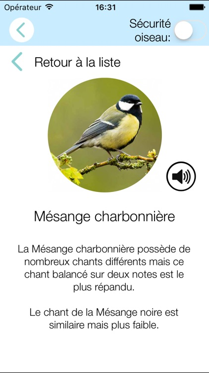 CuiCuiMatique chants d'oiseaux screenshot-1