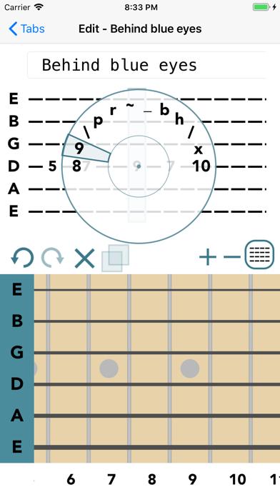 Guitar Tab Maker screenshot two