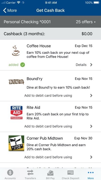 Centier Bank Mobile screenshot-6