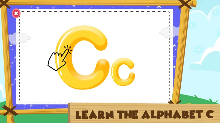 Learning Alphabet C Words Game