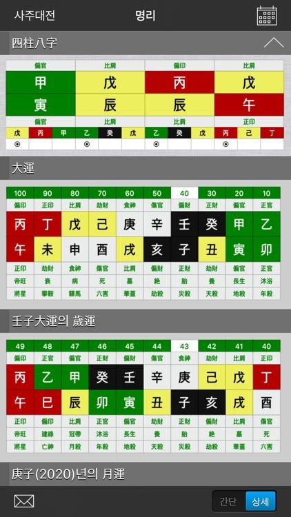 사주대전 - 종합 운세 screenshot-5