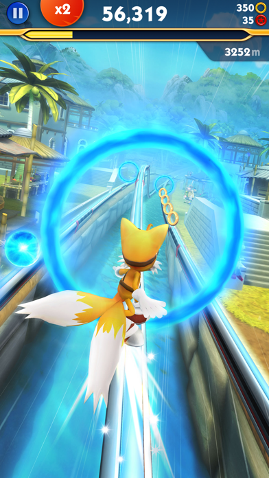 Screenshot of Sonic Dash 2: Sonic Boom4