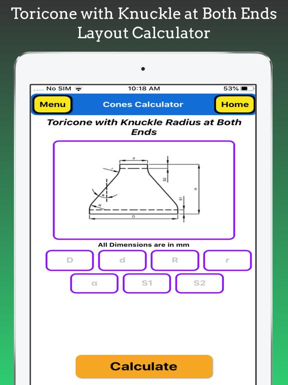 Cones Calculator Pro screenshot 18