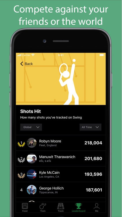 SwingVision: Tennis at Home screenshot-4