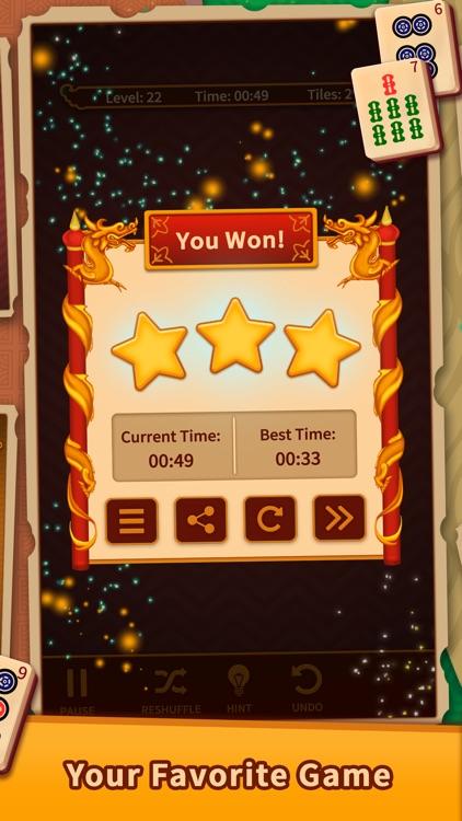 Mahjong Solitaire Puzzles screenshot-4