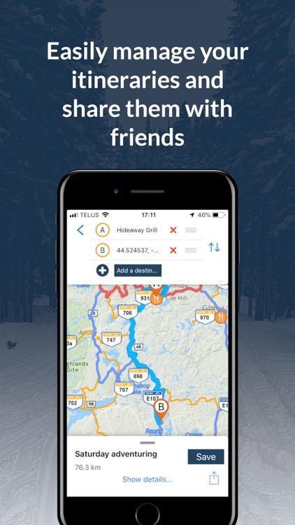 Go Snowmobiling Ontario 2018! screenshot-4