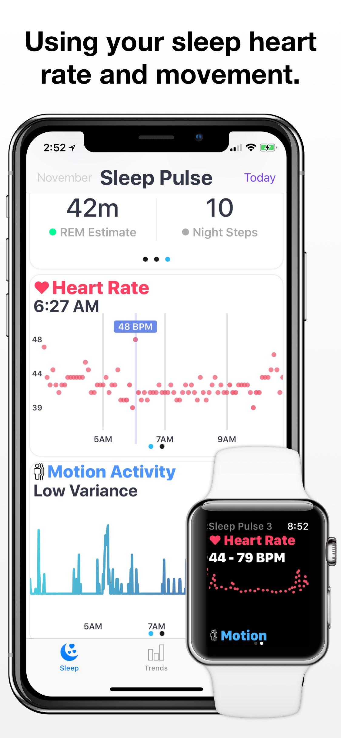Screenshot do app Sleep Tracker - Sleep Pulse 3