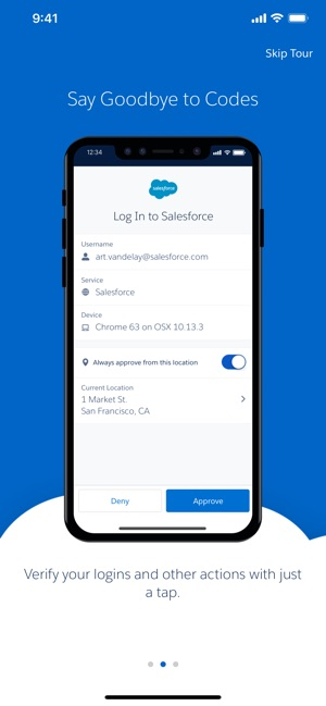 Salesforce Authenticator on the App Store