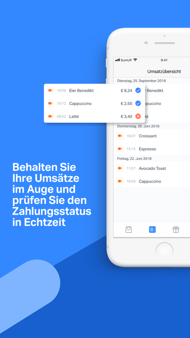 Screenshot for SumUp - Kartenzahlungen in Austria App Store