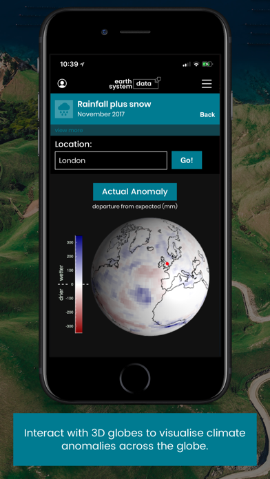 Earth System Data screenshot four
