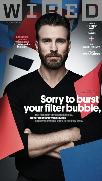 WIRED Magazine Screenshot