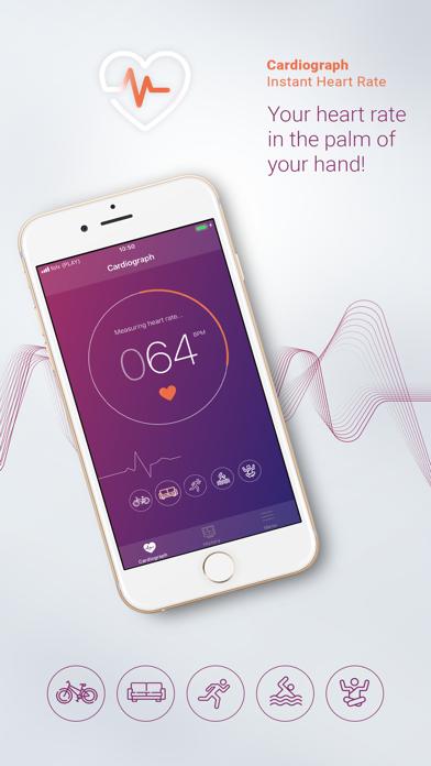 Cardiograph Instant Heart Rate screenshot