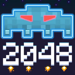 ‎Invaders 2048
