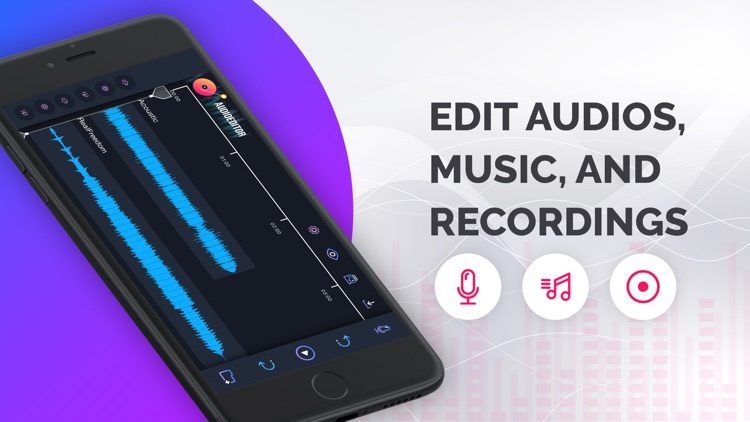 Audio Editor: Recording Studio screenshot-3