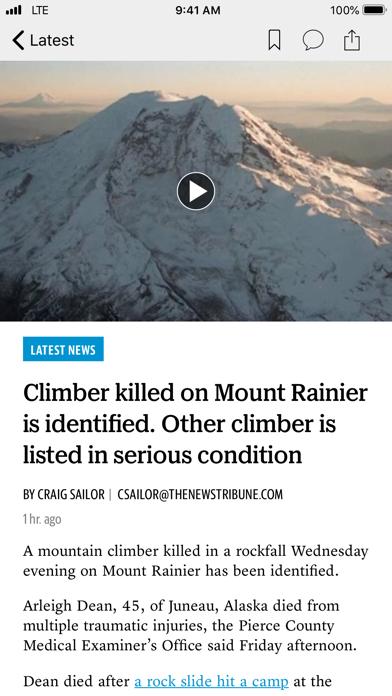 Tri-City Herald News screenshot two