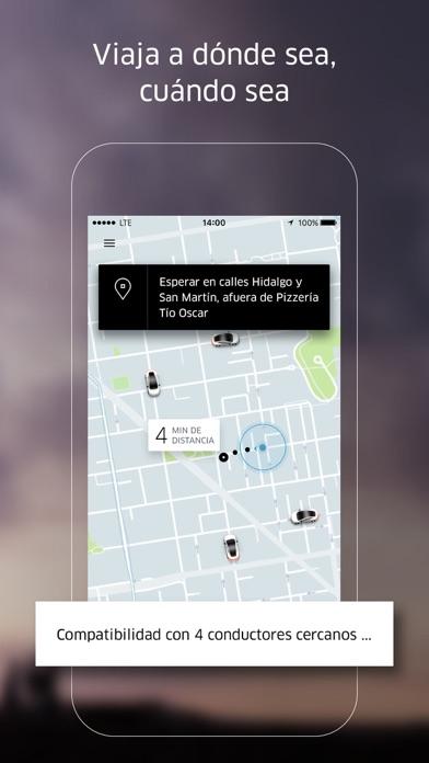 Screenshot for Uber in Peru App Store