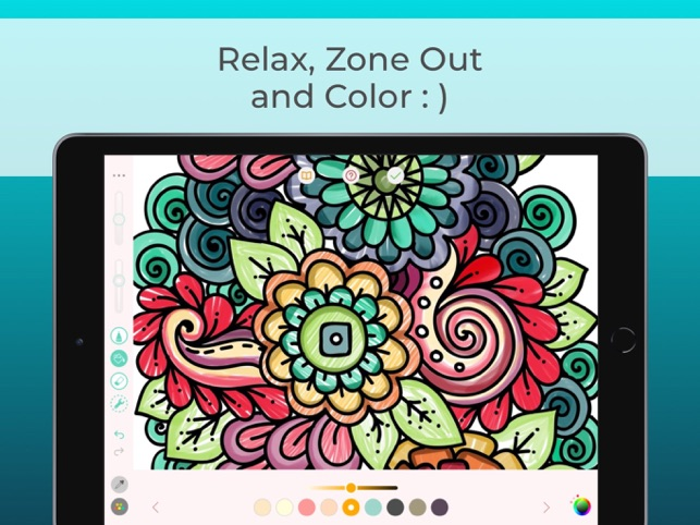 Pigment Adult Coloring Book On The App Store