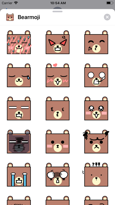 Bearmoji's screenshot 2