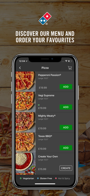 Dominos Pizza On The App Store