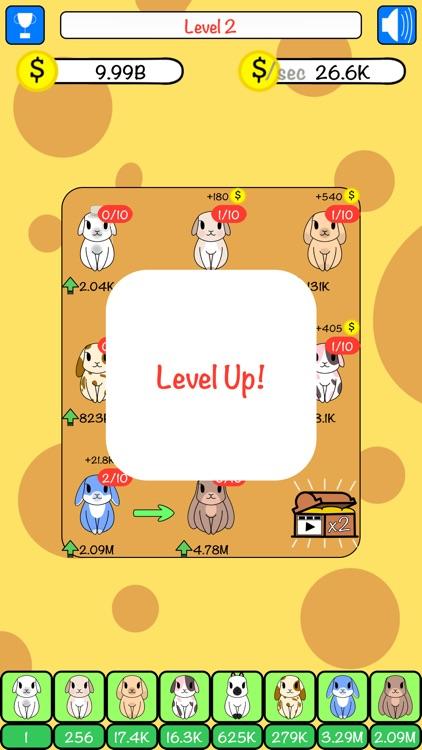 Combo Hares: Upgrade & Combine screenshot-4