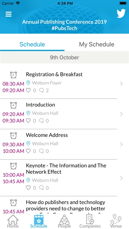 MyConf   Event App