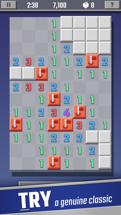 Sweeper Cube: A Classic Puzzle screenshot 1