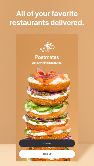 Postmates - Food Delivery Screenshot
