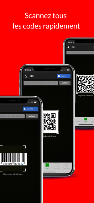 Qr Code Barcode Flash Scan On The App Store