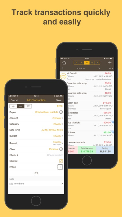 Money Monitor: Expense Tracker screenshot-1