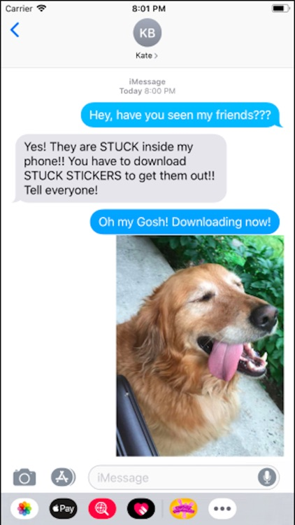 Stuck Stickers