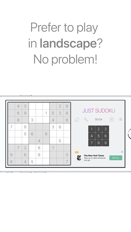 Just Sudoku - Puzzle Games screenshot-5