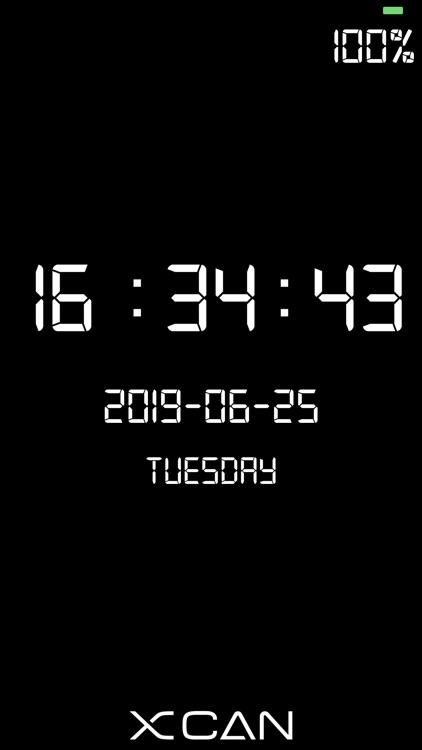 XCAN Clock - Digital Clock