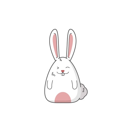 Fat rabbit long ears