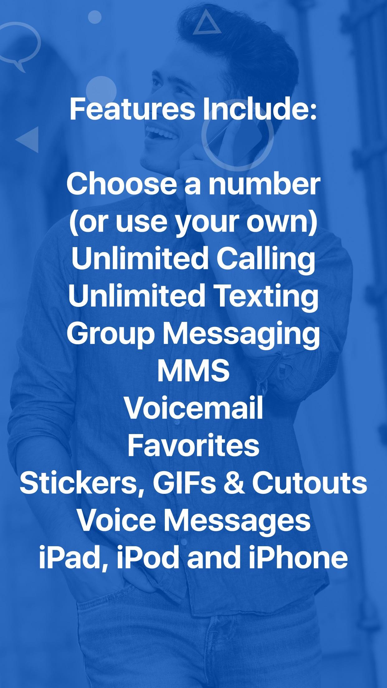 Nextplus: Private Phone Number Screenshot