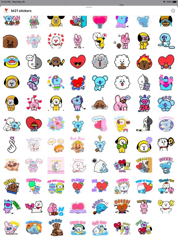 BT21 Stickers screenshot 9