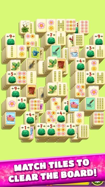 Mahjong Spring Flower Garden screenshot-0