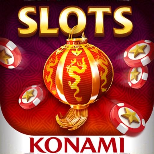 my KONAMI - Real Vegas Slots app logo