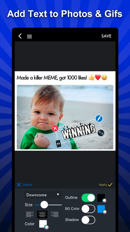 MEME Maker Pro, MEME Creator screenshot-1
