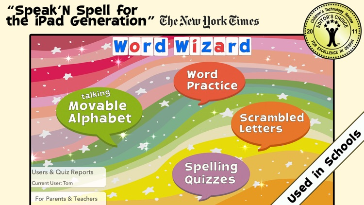 Word Wizard for Kids School Ed screenshot-0