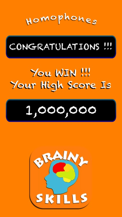 Brainy Skills Homophones screenshot-8