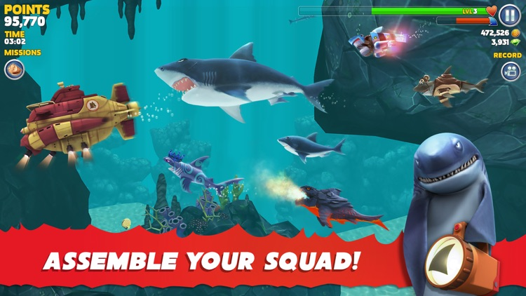 Hungry Shark Evolution screenshot-6