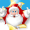 App Icon for Funny Christmas for iMessage App in Colombia IOS App Store