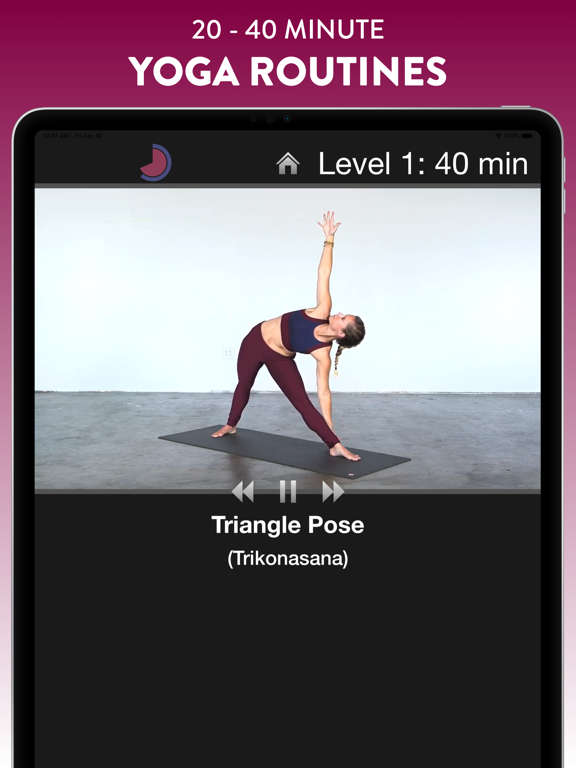 Simply Yoga FREE screenshot