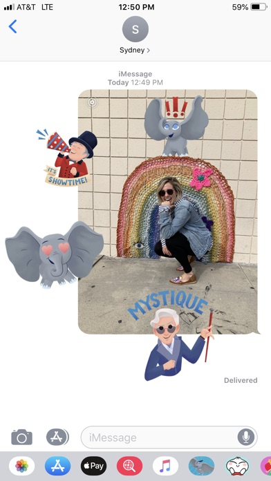Disney Stickers: Dumbo screenshot 4