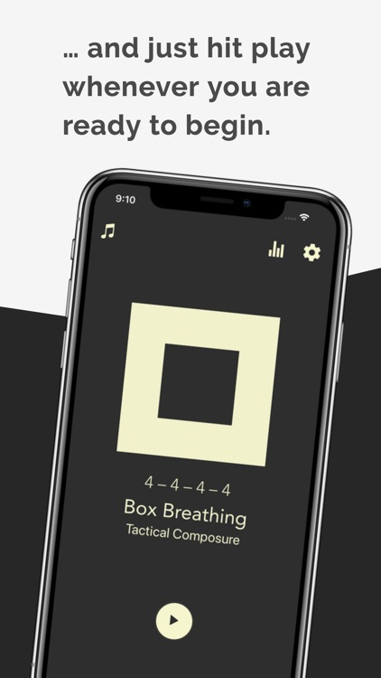 Steady: Zen Breathing App