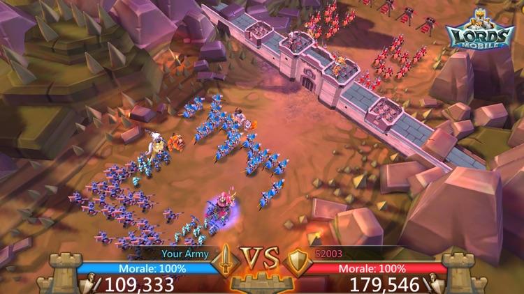 Lords Mobile: Kingdom Wars screenshot-5