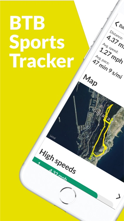 BTB Sports Tracker - Longboard