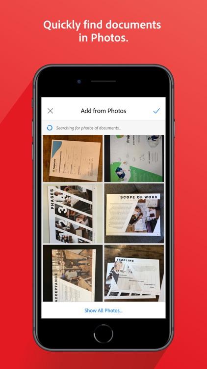 Adobe Scan: Document Scanner screenshot-8