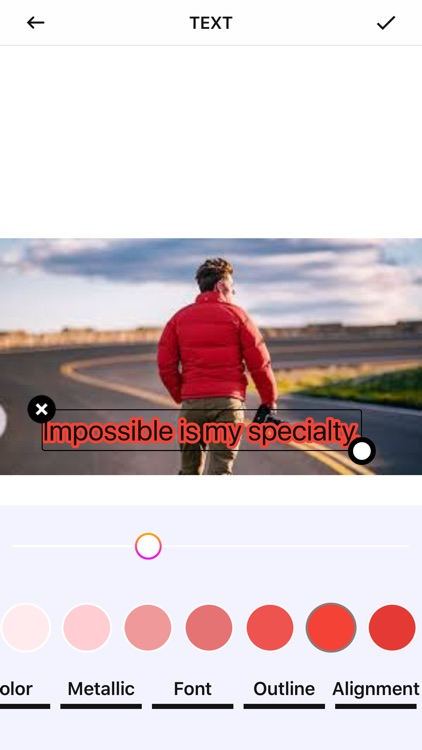 Super darw and text on photos