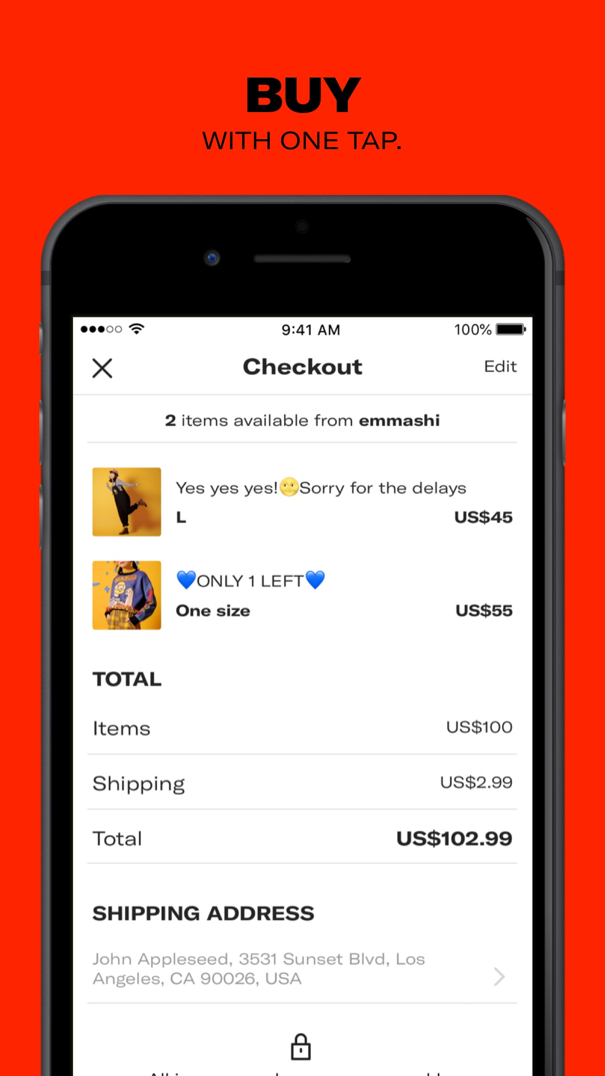 Depop - Buy and sell fashion Screenshot